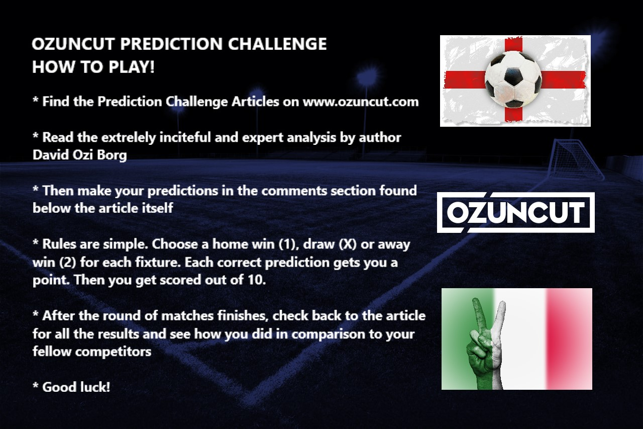 FOOTBALL PREDICTION CHALLENGE 03 02 2018 - OzUncut