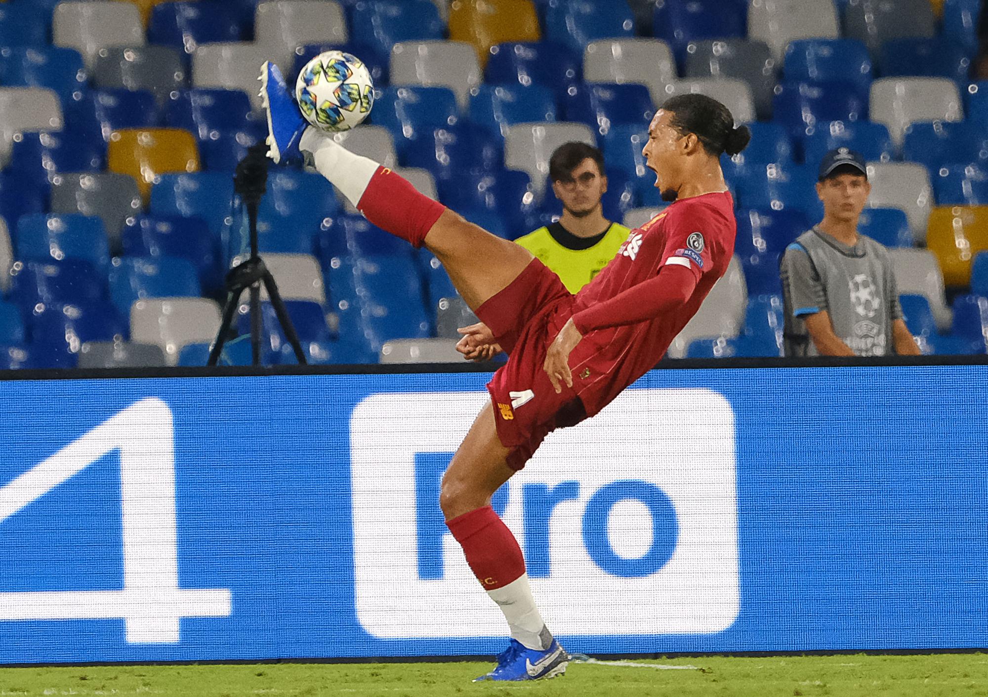 Virgil Van Dijk in action